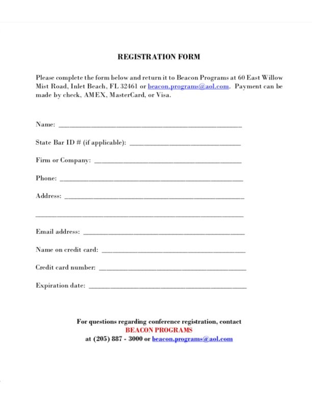 Registration Form 2019